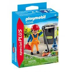 Playmobil 70249 - Pracownik służb komunalnych