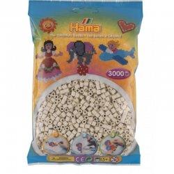 Hama 201-77 kolor mleczna biel, Dodatkowe koraliki Hama Midi 3000 szt