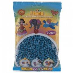 Hama 201-83 kolor ciemny turkus, Dodatkowe koraliki Hama Midi 3000 szt