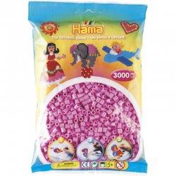 Hama 201-48 - Dodatkowe Różowe Koraliki Hama Midi