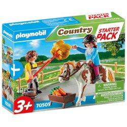 Playmobil 70505 - Starter Pack Stadnina koni - zestaw doda