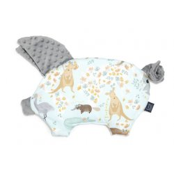 Poduszka Sleepy Pig, Dundee & Friends Blue, Grey, La Millou