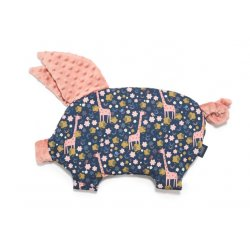 Poduszka Sleepy Pig, French Rose Jardin, Papaya, La Millou