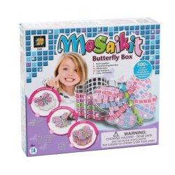 Mozaika - Szkatułka motyl - AmAv