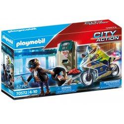 Playmobil 70572 - Policyjny motor - Pościg za przestępcą