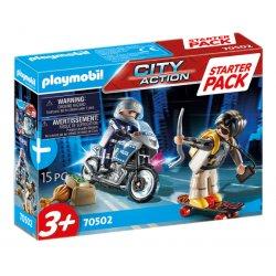 Playmobil 70502 - Starter Pack Policja - zestaw dodatkowy