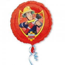 Balon Foliowy Strażak Sam - 43 cm