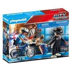 Playmobil 70573 - Policyjny rower - Pościg za kieszonkowcem