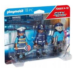 Playmobil 70669 - Zestaw figurek - Policjanci