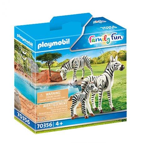 Playmobil 6641- Rodzina zebr