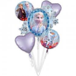 Bukiet balonów foliowych FROZEN II - Zestaw 5 balonów