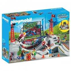 Playmobil 70168 - Skatepark z rampą