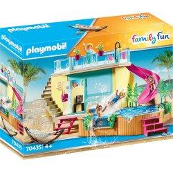 Playmobil 70435 - Bungalow z basenem