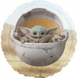 Balon Star Wars - Baby Yoda (Mandalorian) - 43 cm