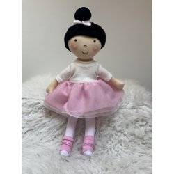 Lalka Hania brunetka - ballerina