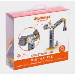 Klocki Mini Wafle 90 szt. - zestaw budowniczy średni