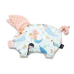 Poduszka Sleepy Pig, Mermaid Playground, Powder Pink, La Millou
