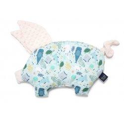 Poduszka Sleepy Pig, Deep Blue, Ecru, La Millou