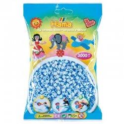 Hama 201-97 jasny niebieski pastelowy 3000 sztuk