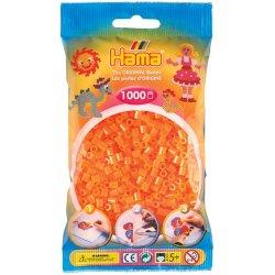 Hama 207-38, koraliki pomarańczowy neon