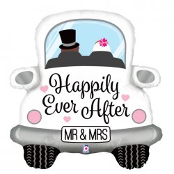 Balon na Wesele - Happily Ever After - Garbus - 79 cm