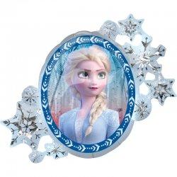 Balon Foliowy Lustro - Elsa i Anna z Krainy Lodu II - Frozen II