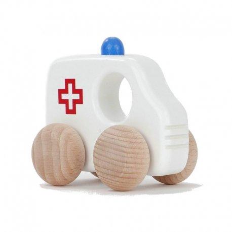 Bajo 44330 - Drewniana zabawka - Ambulans H1
