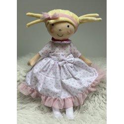 Lalka Hania w sukience w kropki