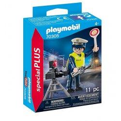 Playmobil 70305 - Policjant z radarem