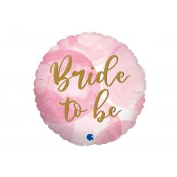 Balon foliowy - Bride to Be - Miss to Mrs - 46 cm