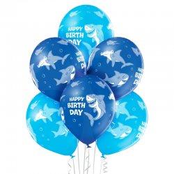 Balony Urodzinowe Rekiny (Birthday Shark) - D11 Belbal
