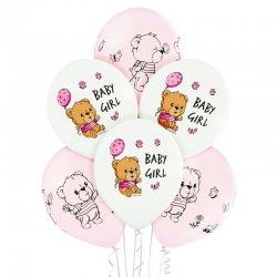 Balony Cute Baby Girl (Na narodziny dziewczynki) - D11 Belbal
