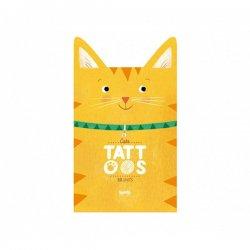 Tatuaże wodne dla dzieci, Kotki