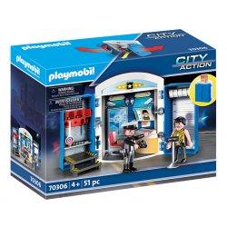 Playmobil 70306 - Play Box - Posterunek policji