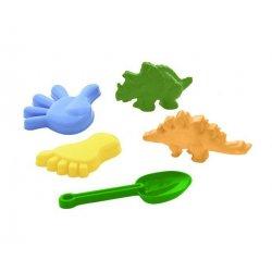 Zabawki do Piasku Dinozaury - Komplet Polesie 35684