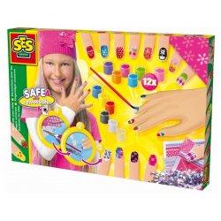 Zestaw kreatywny - ozdabianie paznokci - SES Creative