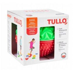 Półkula sensoryczna do masażu 2 szt - Tullo 483