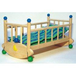 Bajo 74820 - drewniana kołyska dla lalek