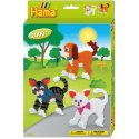 Hama 3433 - Kotki i Pies - Koraliki Midi