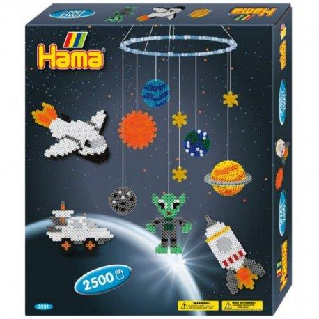 Hama 3231 - KOSOMOS i PLANETY - koraliki midi w pudełku