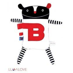 Lullalove - Zabawka Mr B dla Niemowlaka
