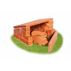 Zagroda ze świnką - Budowle z cegiełek - Teifoc1020