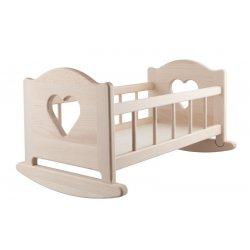 Kołyska Drewniana dla Lalki XL