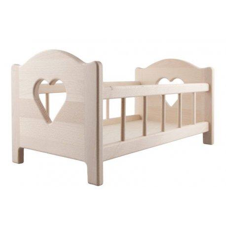 Drewniane łóżeczko XL - Lupo Toys