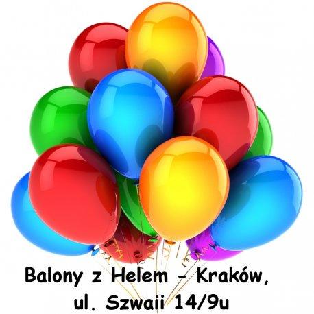 Napełnianie Balonów Helem Kraków