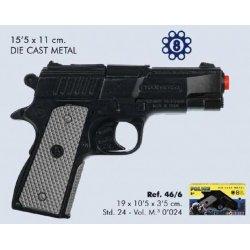 Pistolet Rewolwer Policyjny Kapiszony Gonher