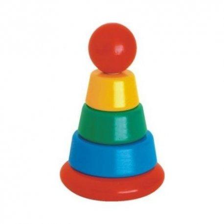 Bajo 32810 - mała piramidka nakładanka
