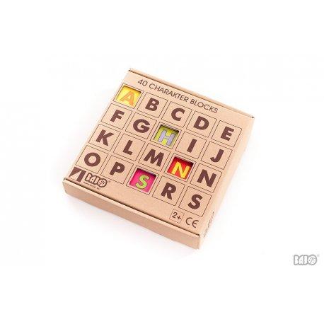 Bajo 91510 - drewniane klocki z literkami