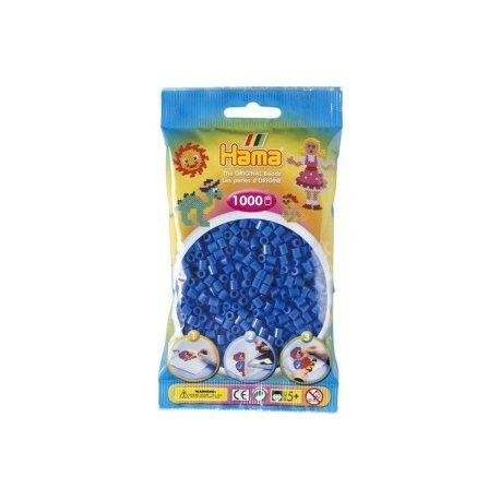 Hama 207-09 - niebieskie koraliki - 1000 szt