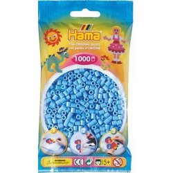 Hama 207-46 - koraliki niebieskie pastelowe - 1000 szt